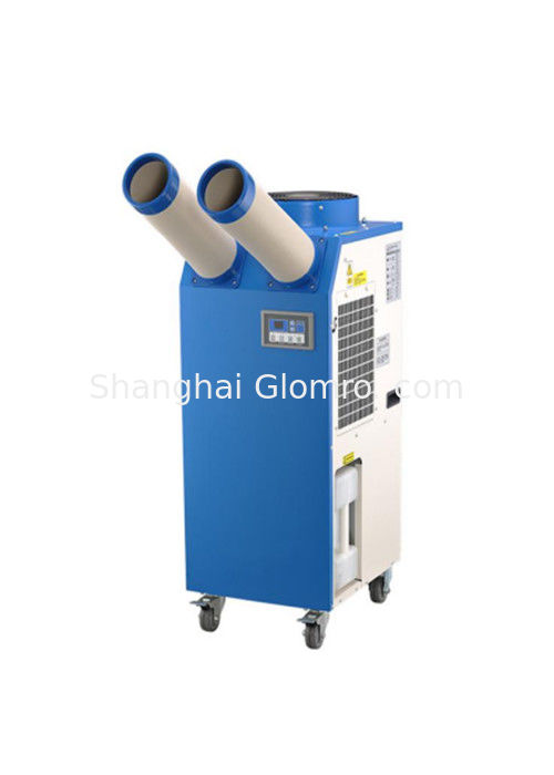 Floor Standing Industrial Portable Air Conditioner With Self Contained Wheels